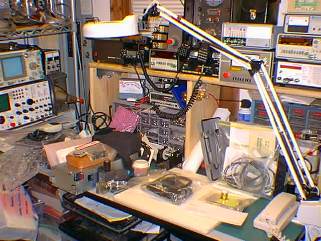 Electronics Test Bench : N ckh amateur radio software